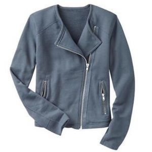 GAP | Rib Mix Knit Moto Jacket